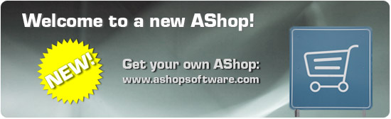 Welcome to a new AShop!